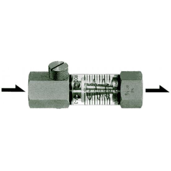 Расходомер для стабилизации и потдержания расхода охлождающей воды пресс-форм термопластавтоматов