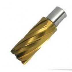 Корончатые сверла M2 SHC55 TiN (нитрид титана)