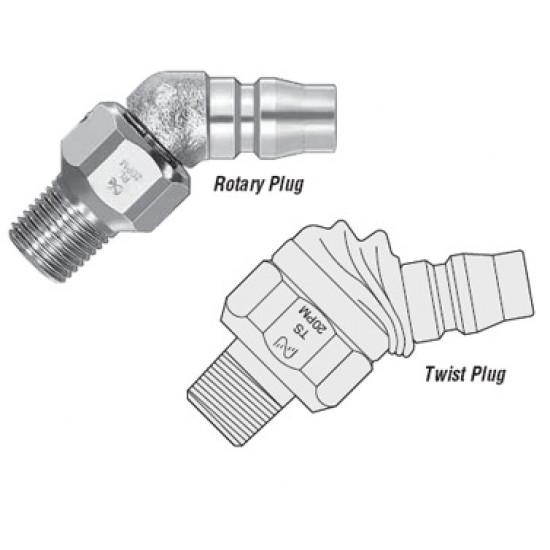 Быстроразъемные соединения (БРС) Cupla серии Rotary Plug