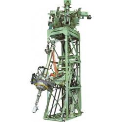 Установка с автоматической подачей ствола