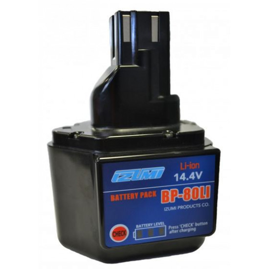 Батарея аккумуляторная Li-Ion IZUMI BP80LI