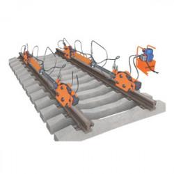 Устройство для перемещения тяжеловесного оборудования по рельсам P25