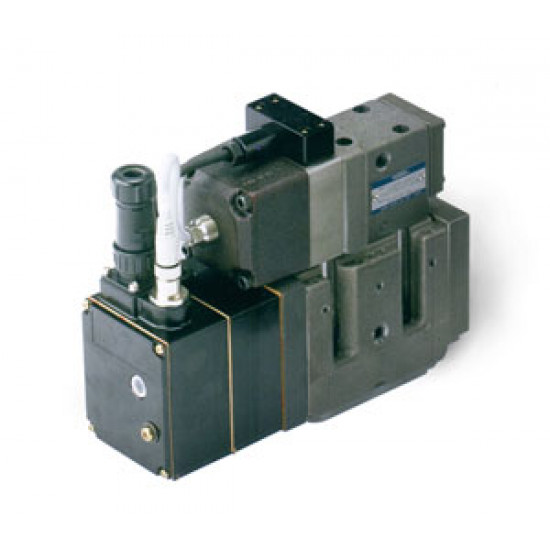Линейный сервоклапан Yuken со встроенным электронным усилителем