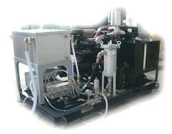 Малогабаритный насос высокого давления для чистки теплообменников