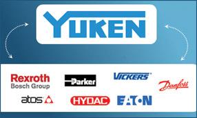 Взамозаменяемость оборудования Yuken