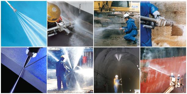 Инструмент и оборудование для очистки водой высокого давления