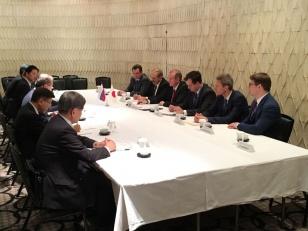 Встреча Губернатора Сергея Левченко РОТОБО в Токио