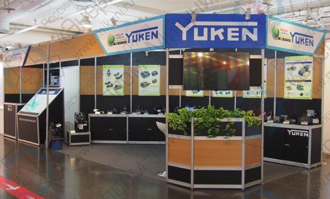 Стенд Yuken Kogyo на выставке METALEX 2015