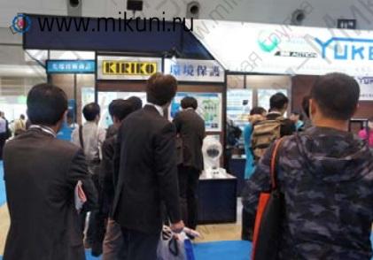 Посетители стенда Yuken на выставке JIMTOF