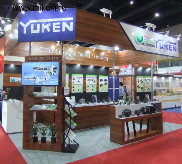 Стенд Yuken на выставке METALEX